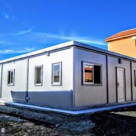 Μεταλλικό λυόμενο σπίτι 105τμ