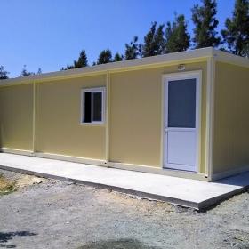 Μεταλλικό λυόμενο σπίτι 10Χ4 40τμ