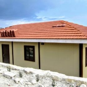 Μεταλλικό λυόμενο σπίτι 12Χ6 72τμ