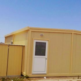 Μεταλλικό λυόμενο σπίτι 8Χ6 48τμ