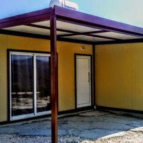 Μεταλλικό λυόμενο σπίτι 33τμ