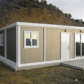 Μεταλλικό λυόμενο σπίτι 9Χ6 54τμ