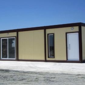 Μεταλλικό λυόμενο σπίτι 9Χ8 72τμ